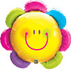 "32"" Funny Face Flower Mylar Foil Balloon"