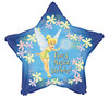 "18"" Tinkerbell Star Birthday  Mylar Foil Balloon"