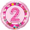 "18"" 2nd Birthday - Make It Count Series Mylar Foil Balloon"