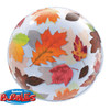 "22"" Fall Leaves Bubble Balloon"