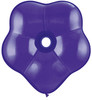 "Geo Blossom  6"" Jewel Quartz Purple Latex Balloons"
