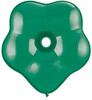 "Geo Blossom  6"" Jewel Emerald Green Latex Balloons"
