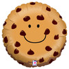 "18"" Chocolate Chip Cookie Mylar Foil Balloon"