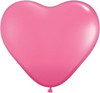 "Heart  6"" Fashion Rose Latex Balloons"