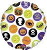 "18"" Halloween Icons Mylar Foil Balloon"