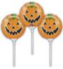 "9"" Smiley Pumpkin Ez Fill - Set of 3 Mylar Foil Balloons"