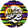 "18"" Happy Halloween Vampire Bat Mylar Foil Balloon"