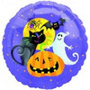 "18"" Gruesom Group Halloween Mylar Foil Balloon"