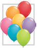 "Round 11"" Fashion Festive Assortment Latex Balloons - 100 Ct (78270)"