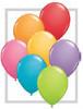 "Round 16"" Festive Assortment Latex Balloons - 50 Ct (78297)"