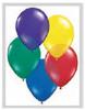 "Round 24"" Radiant Jewel Assortment Latex Balloons - 5 Ct (14905)"
