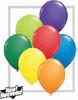 "Round  5"" Carnival Assortment Latex Balloons (20914)"