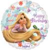 "18"" Tangled Happy Birthday Mylar Foil Balloon"