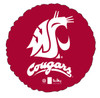 "18"" Washington State University Cougars Mylar Foil Balloon"