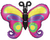 "38"" Linky Butterfly Shape Mylar Foil Balloon"