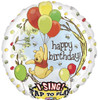 "28"" Singing Pooh  Birthday Mylar Foil Balloon"