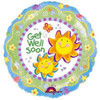 "18"" Chatterbox Get Well Mylar Foil Balloon (single-sided)"