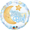"18"" Its a Boy Celestial Mylar Foil Balloon"