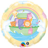 "18"" Baby Ark & Rainbow Mylar Foil Balloon"