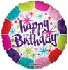 "18"" Birthday Fresh Mylar Foil Balloon"