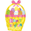 "18"" Easter Basket Junior Shape Mylar Foil Balloon"