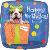 "18"" Puppy Birthday Surprise Mylar Foil Balloon"