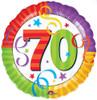 "18"" Perfection 70 Mylar Foil Balloon"