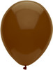 "Round 11"" Crystal Chestnut Brown BSA Latex Balloons - Bag of 100"