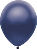 "Round 11"" Satin Navy Blue Balloons - 100 Ct Bag"