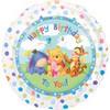 "18"" Winnie the Pooh Babies Birthday Mylar Foil Balloon"