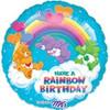 """18"""" Care Bears Rainbow Birthday Mylar Foil Balloon"""