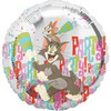 "18"" Tom & Jerry Party Animals Mylar Foil Balloon"