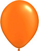 "Round  5"" Radiant Pearl Mandarin Orange Latex Balloons (48958)"