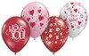 "11"" Playful Assortment Latex Balloons"