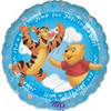 "18"" Winnie The Pooh It's A Boy!  Mylar Foil Balloon"