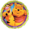"18"" Winnie The Pooh & Tiger  Friends Forever Mylar Foil Balloon"