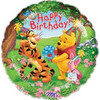 "18"" Winnie & Tiger Happy Birthday Mylar Foil Balloon"