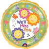 "18"" We'll Miss You Mylar Foil Balloon"