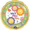 "18"" We'll Miss You Mylar Foil Balloon"