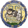 "18"" Have a Wild Birthday Birthday  Mylar Foil Balloon"