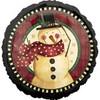 "18"" Cozy Snowman Mylar Foil Balloon"