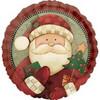 "18"" Cozy Santa Mylar Foil Balloon"