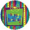 "18"" Funky Birthday Gift Mylar Foil Balloon"