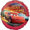 "18"" Disney Cars Movie Champ Happy Birthday Mylar Foil Balloon"