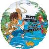 "18"" Go Diego Go Happy Birthday Mylar Foil Balloon"