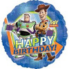 "18"" Disney Toy Story Happy Birthday Party Mylar Foil Balloon"