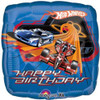 "18"" Hot Wheels Racing Birthday Mylar Foil Balloon"