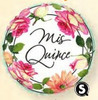 "18"" Mis Quince Blossoms Mylar Foil Balloon"