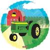"""18"""" Tractor On a Farm Mylar Foil Balloon"""