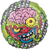 "18"" Mad Balls Bash Brain Mylar Foil Balloon"